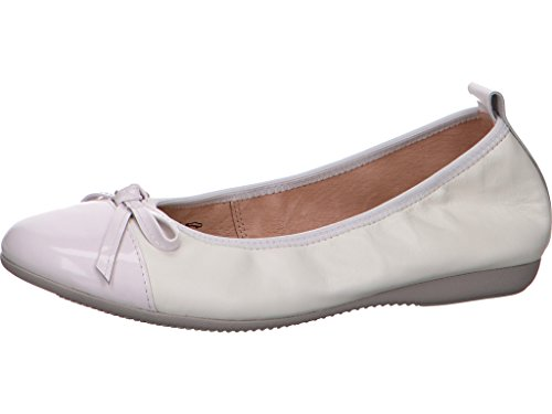 LA Ballerina 6192 5B - Bailarinas Para Mujer Weiß