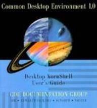 Common Desktop Environment 1.0 Desktop Kornshell User's Guide (Common Desktop Environment 1.0S)