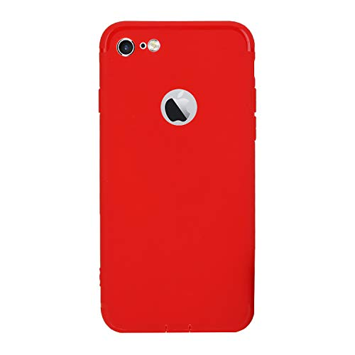 M7 Silicone Back Cover for Apple iPhone 6/6S  Red