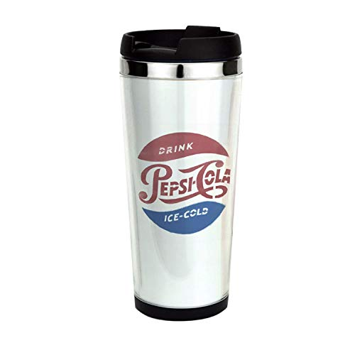 (Pepsi-Cola Ice Cold, Drinking Cup, Coffee Mug,Travel Mug 14oz)