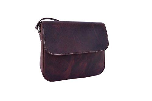 Messenger VintageCraft Crossbody Leather Handbag Gift Shoulder Genuine Wallet Women's Purse Bag qw4wf1tSx