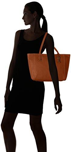 Fossil Emma Borsa tote Shopper pelle 32 cm Brown (Marrone)