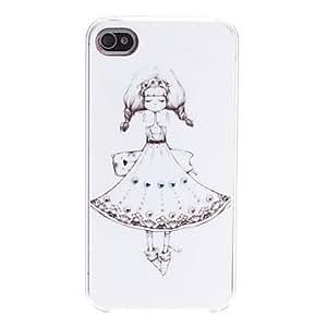 MOFY- Chica Case Versi—n dura para el iPhone 4/4S