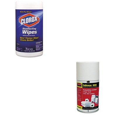 KITCOX01761EARCP5159 - Value Kit - Rubbermaid-Sebreeze 9000 Can Country (RCP5159) and Clorox Disinfecting Wipes (COX01761EA)