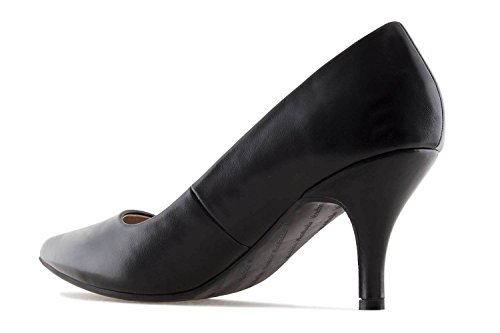 Shoes Women's Andres Machado Black Court Negro Soft p0Twq