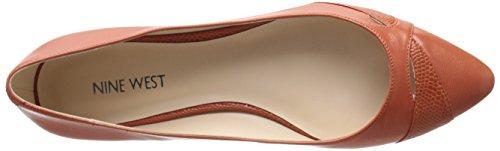Nine West mujer calzado piel soporte de Orange/orange