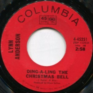LYNN ANDERSON - ding-a-ling the christmas bell / don't wish me a ...