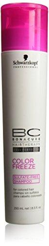 Schwarzkopf BC Bonacure Color Freeze Sulfate-Free Shampoo 8.5 oz / 250 ml by Schwarzkopf Professional