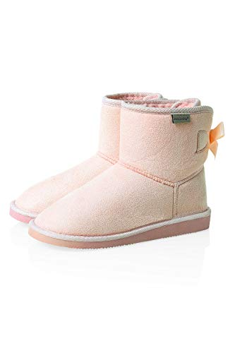 Rose Boots Bottes Femme Slip Hachiro Bottines Chaussures w0YgWI
