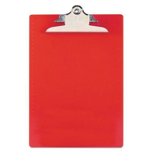 """SAUNDERS 21601 Recycled Plastic Clipboards, 1"""" Capacity, Hol"""