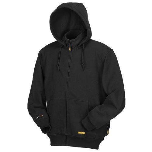 DEWALT DCHJ067B-L 20V/12V MAX Bare Hooded Heated Jacket, Black, Large