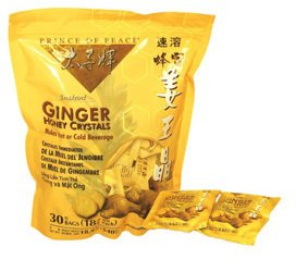 2 INSTANT GINGER HONEY CRYSTALS 30 BAGS