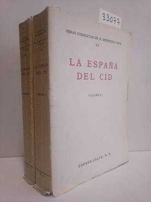 LA ESPAÑA DEL CID. Dos Volumenes.: Amazon.es: Menendez Pidal, Ramon., Dibujos De Pedro Muguruza.: Libros