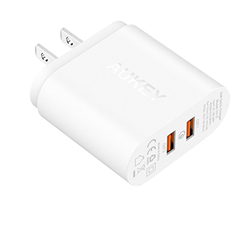 Charge AUKEY Charger Samsung BlackBerry