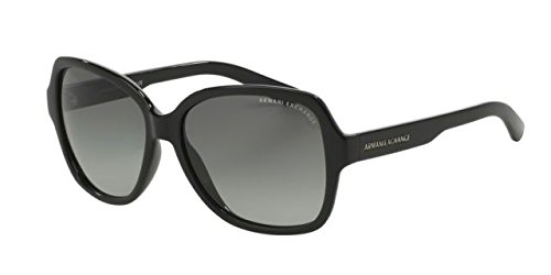 Armani Exchange AX 4029S Women's Sunglasses Black - Sunglasses Ax