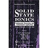 SOLID TATE IONICS: solid-state ion the 12th Asian Conference Papers Set(Chinese Edition)