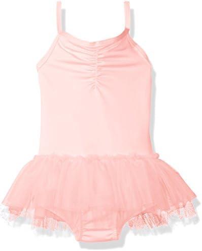 Clementine Apparel Girls Microfiber Camisole Cami Tutu Chiffon Skirt Dance Dress Leotard Ballerina Dancewear  Costume Clementine Children/'s Apparel MG-2231