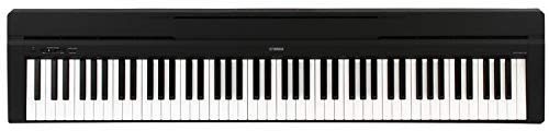 (Yamaha P45 88-Key Weighted Action Digital Piano with Sustain Pedal and Power Supply, Standard, Black)