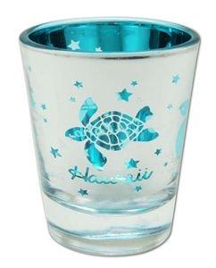 (Honu Aloha Hawaii Metallic Shot Glass)