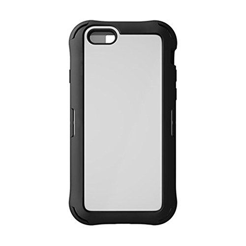 Price comparison product image Ballistic EX1448-A08C Explorer Series Case with Integrated Screen Protector for Apple iPhone 6 and iPhone 6s - Retail Packaging - Black/White
