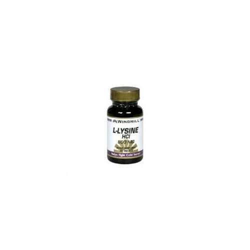 Windmill L-Lysine HCl 500 mg Tablets 120 TB - Buy Packs and SAVE (Pack of 3) (L-lysine Hcl 500 Mg Tablets)