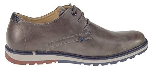 Yhl5002 Grau Stringate Scarpe Footwear Uomo Elifano CqFgx