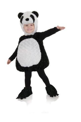 Underwraps Baby's Panda Belly-Babies, Black/White, Medium