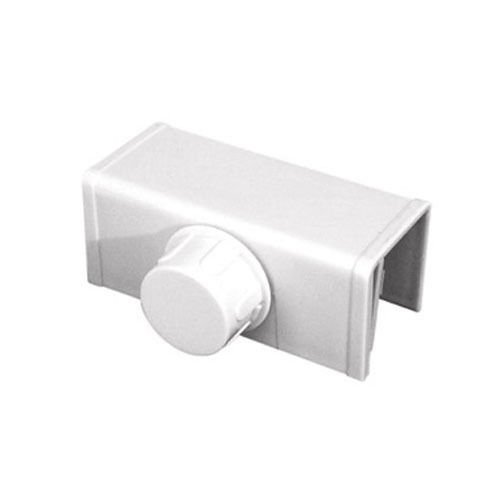 Prime-Line Bi-Fold Door Safety Latch White Card