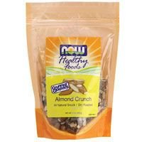 NOW Foods Almond Crunchy Clusters, 9-Ounce (Pack of 2)