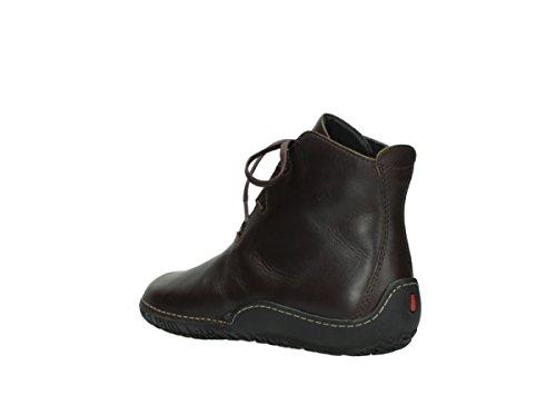 Snøre Moc Comodidad Wolky Zapatos 50300 Læder Brunt 06200 Rollo ZSvfgw