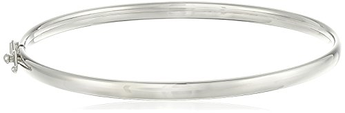Girls' 14k White Gold Polished Bypass Bracelet by Amazon Collection