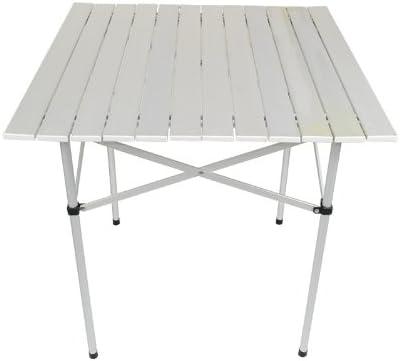 ISO TRADE Mesa DE Aluminio Plegable • Ideal para tu balcón ...