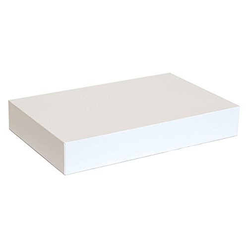 KC Store Fixtures 07105 Garment Box, 19'' x 12'' x 3'', White (Pack of 50)