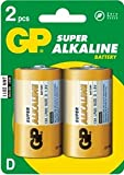 Replacement For IN-19SY9 GP D SUPER ALKALINE BATTERY 2PK CARDED Battery 10 PACK