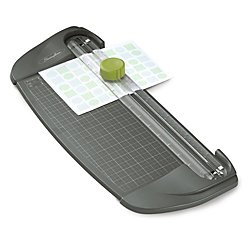 Swingline Paper Trimmer / Cutter, 3-in-1 Style Blade, 12'' Cut Length, 5 Sheet Capacity, SmartCut Dial-A-Blade, Gray (1312)
