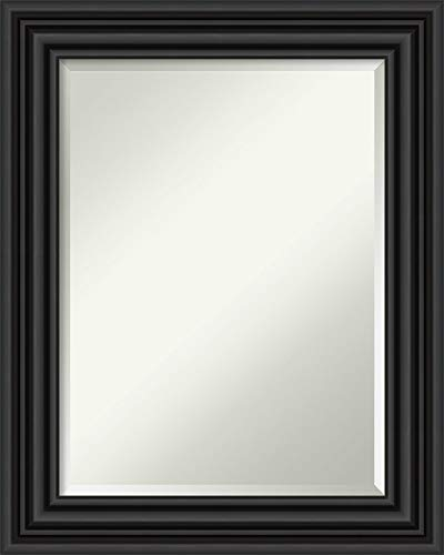Amanti Art Framed Vanity Mirror | Bathroom Mirrors for Wall | Colonial -