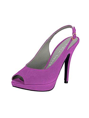 Patrizia Dini - Zapatos con tacón Mujer Rosa - fucsia