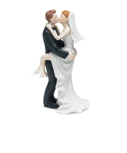Kissing Couple Cake Topper - Weddingstar Kissing Couple Cake Topper