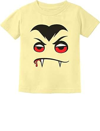 Tstars - Halloween Easy Costume Vampire Face Infant Kids T-Shirt 6M Banana
