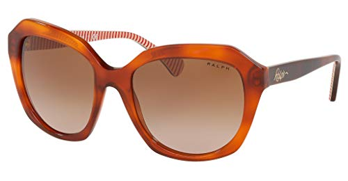 Ralph Lauren RA5255-578413 Sunglasses RED HAVANA w/GRADIENT BROWN Lens ()