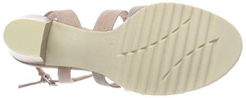 Marco Tozzi 28705, Sandalias de Talón Abierto Para Mujer Rosa (Rose Comb)