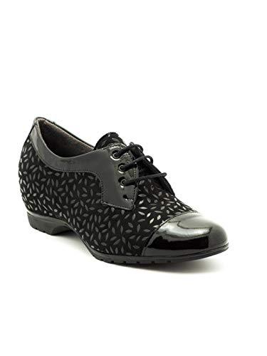 PITILLOS Cuir Chaussure Noir 3812 Noir UUqYwHr