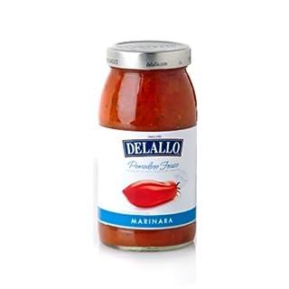DeLallo Pomodoro Fresco Marinara Pasta Sauce, 25.25-Ounce Jar (Pack of 6)