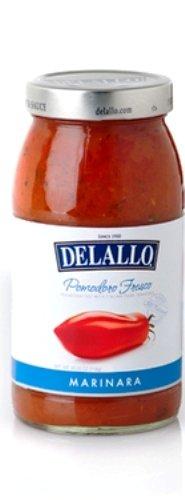 (DeLallo Pomodoro Fresco Marinara Pasta Sauce, 25.25-Ounce Jar (Pack of 6))