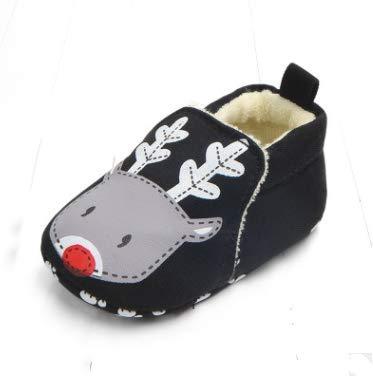 KINGDUO 0-1 Ans Printemps Et L'Automne Nouveau Fond Mou Antidérapant Ne Peut Pas Se Permettre Chaussures Enfant Chaussures Bébé-Rose 13