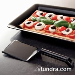 Emi Spatula - EMI Yoshi EMI-206 48 Black Heavy Weight Disposable Plastic Spatula Cake Spatula Pie Server Cake Server Pastry server