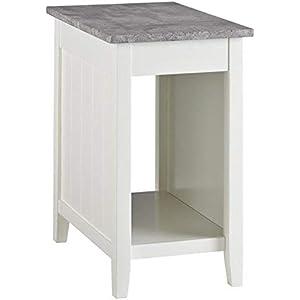"""d2780e7cb34ce5 Signature Design by Ashley T217-371 Diamenton Chairside End Table Inches:  14"""" W"""