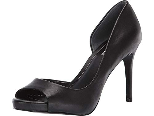 CHARLES BY CHARLES DAVID Women's Chess Pump Black Leather 11 M US