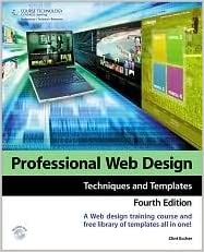 Book Professional Web Design 4th (forth) edition Text Only