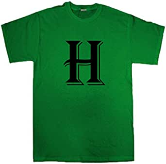 تي شيرت IMPRESS من البوليستر بتصميم حرف H
